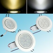 6PCS 3W 7W 12W LED Downlight kit Recessed Ceiling Light Lamp Bulb Cabinet+Driver