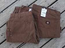 Mens Dickies Relaxed Fit Sanded Carpenter Pants Cotton Duck Jeans