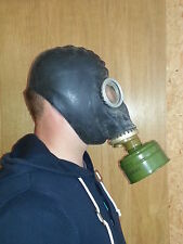 Gas Mask GP-5 mask filter and bag BLACK Soviet Russian NEW Exotic Collectible