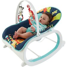 Infant To Toddler Rocker Baby Bouncer Rocking Vibrating Recliner Seat Chair