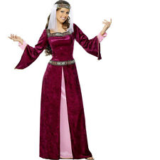 Deluxe Adult Maid Marion Ladies Womens Robin Hood Fancy Dress Costume 30816
