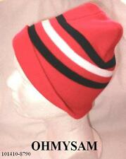 1 NEW MULTI COLOR ADULT SIZE BEANIE STYLE THERMAL HAT MULTI COLOR DES FREE SHIP