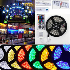 SMD 5050/3528 5M Waterproof 300 Flash LED Flexible Ribbon Lighting Strip 12V 60W