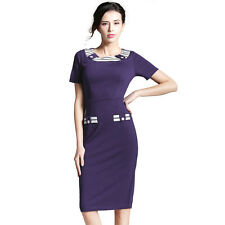 Women Dress European Stylish Office Formal Bodycon Dress