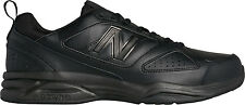 New Balance Mens Shoes Black Black Leather New in Box  MX623AB3