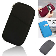 Holders For Credit ID Card Cash Coin Travel Passport Organizer Bags Wallet Purse
