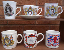 SELECTION OF COMMEMORATIVE MUGS - SILVER JUBILEE OF QUEEN ELIZABETH II 1977.