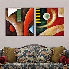 2PC No Frame Colorful Abstract Canvas Home Decorar Wall Picture for Living Room