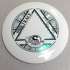 FREE SHIPPING!!! New from Streamline Discs Trace Distance Driver White 167-173