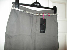 BNWT Per Una Ladies Casual Pure Tencel Trousers With Belt  Size 8