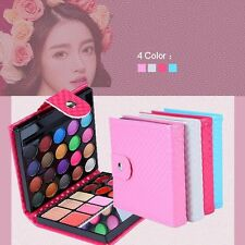 Cosmetic Eyeshadow Face Lips Eye Shadow Makeup Palette Shimmer Set 32 Colors