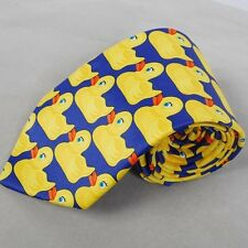 How I Met Your Mother HIMYM Barney&Marshall's Yellow Ducky Duck Duckie Scarf Tie