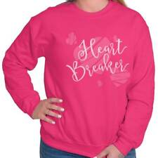 Heart Breaker Cute Fun Valentines Day Gifts Funny Quote Sweatshirt