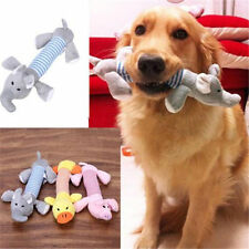 New Pet Toy Squeaky Duck Elephant Dog Toys Puppy Chew Sound Plush BE