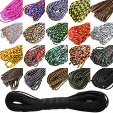 550 Paracord Parachute Cord Lanyard Mil Spec Type III 7 Strand Core 100 FT  BE