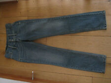 LEVIS GIRLS RED TAB SKINNY MID WASH STONEWASHED BLUE JEANS 27 WAIST UK 8 XS