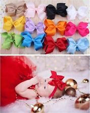 Hair Band Bow Accessories Toddler Big Bowknot Headbands Baby Girl Kids Headdre O