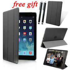 Slim Magnetic Leather Smart Cover Hard Back Case+ GIFT For iPad 2 3 4 5 Air mini