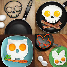 Breakfast Egg Mold Silicone Pancake Egg Ring Shaper GKunny Cooking Tool BE