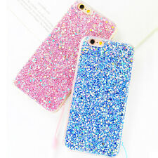 New Bling Glitter Soft Candy Color Back Case Cover for iPhone6/6s/7/plus
