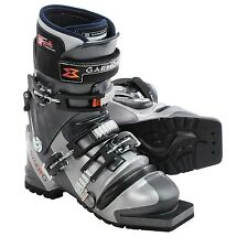 NEW Womens Garmont Syner-G Telemark Ski Boots G-Fit Liner, Mondo 24, US 7