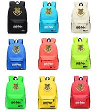 New Harry Potter Backpack Hogwarts Shoulder Bag School Bag Rucksack Multi Color