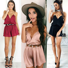 NEW Women Ladies Clubwear Summer Playsuit Bodycon Party Jumpsuit Romper Shorts