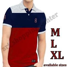 2017 NWT Tommy Hilfiger Men's Short Sleeve Classic Fit Polo Neck Tee T Shirt
