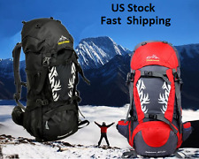 Best Camping Hiking Travel Backpack Outdoor Climbing Skiing Bag Waterproof,50L