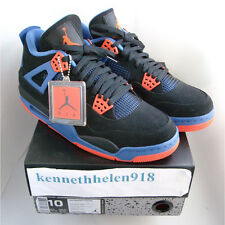 NEW 2012 NIKE AIR JORDAN IV 4 RETRO CAVS BLACK SAFETY ORANGE GAME ROYAL SIZE 10