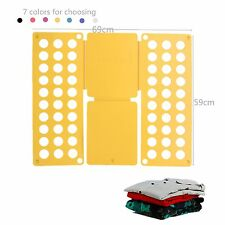 Clothes T-Shirt Folder Folding Board Flip Fold For Adult Child Laundry New BE