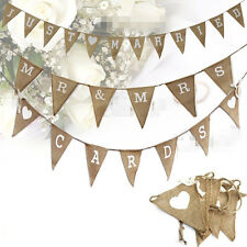 Wedding Banner Party Decoration Bunting Garland Festival Mr&Mrs Married Engaging