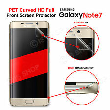 New Full Coverage Soft & Clear Front Screen Protector for Samsung Galaxy Note 7