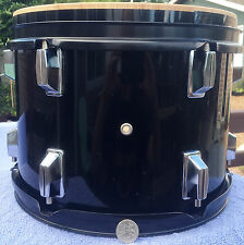 Precision Percussion 12 X 10 inch Rack Tom Drum Set Used DW Pacific Made Rock H