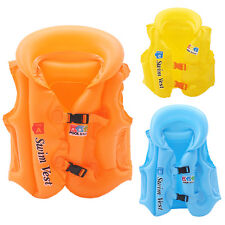 Outdoor Inflatable Swimming Pool Beach Vest Kids Baby Training Float Aid Jackets