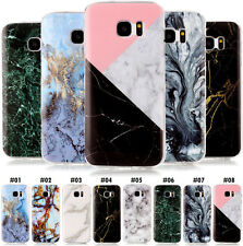 Painted Skin Rubber Marble Shell Silicone Soft TPU Case Cover For Samsung Phones