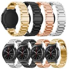 Stainless Steel Strap Wrist Band with Clasp for 22mm Width Smart Wear Watch