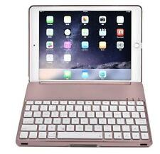 Wireless Bluetooth LED Backlight Keyboard Aluminum Case Cover For iPad Pro 9.7