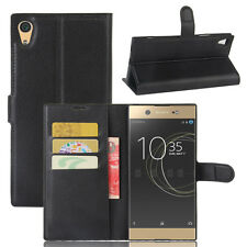 PU Wallet Flip Leather Stand Pouch Case For Sony Xperia XA1 Ultra/ XZS / Premium