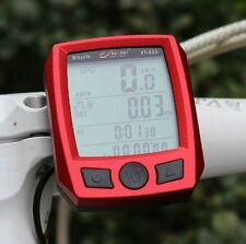Cycling Bike Bicycle Cycle Waterproof Computer Odometer Speedometer