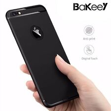 Ultra Thin Soft TPU Matte With Dust Plug Back Cover Case for iPhone 6 & 6s Plus
