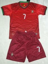 WORLD CUP NO.7 RONALDO PORTUGAL HOME football SOCCER kit 3-14 years available