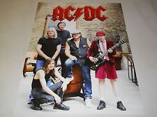 AC DC  ROCK  LEGENDS  EXTREMELY  RARE  ORIGINAL   MINT AUST PROMO MUSIC POSTER