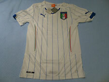 NWT Puma 2014 World Cup Italy White Away Jersey (Men Size Medium or LARGE)