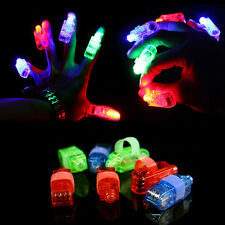 Glowlamp Party Night Club Beams Laser Toy LED Finger Light Up Ring Gift Glow