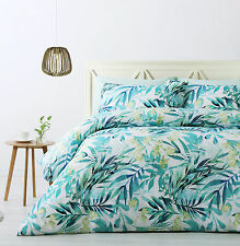 Big Sleep Levi Green Tropical Quilt Doona Cover Set - SINGLE DOUBLE QUEEN KING
