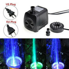 210 GPH Submersible Water Pump For Aquarium Fish Tank Pond Fountain zp