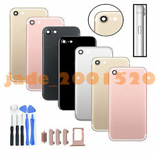 """Metal Back Door Cover Battery Case Housing Replacement For iPhone 7 4.7"""" + Tools"""