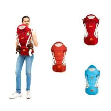 Cotton Baby Carrier Sling Pouch Carrier Comfort Mummy Backpack Sling Wrap 3-36M