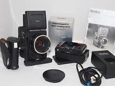 Rolleiflex, Rollei 6006 Camera Outfit Body, 80mm lens, 120back, grip,film tested